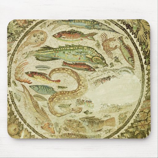 Detalle de pescados, las cuatro estaciones, de Veg Alfombrillas De Raton