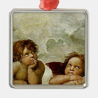 Detalle de Raphael Sistine Madonna circa 1513 Ornato