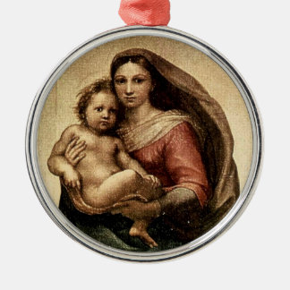 Detalle de Raphael Sistine Madonna circa 1513 Adorno