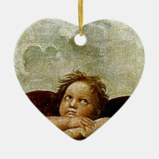Detalle de Raphael Sistine Madonna circa 1513 Ornamentos Para Reyes Magos