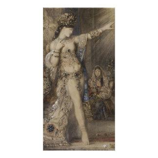 Detalle de Salome y de la aparición de Gustave Tarjetas Fotograficas