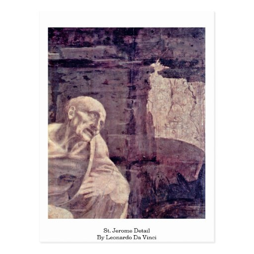 Detalle de St Jerome cerca Tarjetas Postales