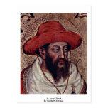 Detalle de St Jerome de Gentile da Fabriano Postal