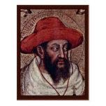 Detalle de St Jerome de Gentile da Fabriano Tarjeta Postal