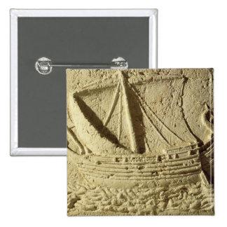 Detalle de un alivio de un barco, de un sarcófago pins