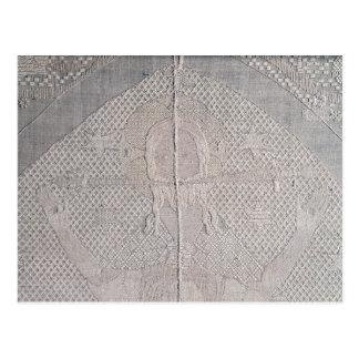Detalle de un altarcloth con Cristo de Tarjetas Postales