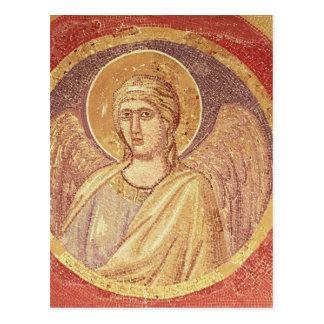 Detalle de un ángel del Navicella Postal