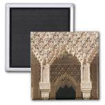 Detalle de un arco de la galería, de la corte imán