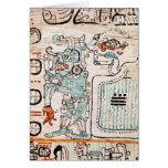 Detalle de un códice maya felicitación