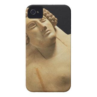 Detalle de un sarcófago femenino de Cádiz, 5to-4ta iPhone 4 Case-Mate Carcasas