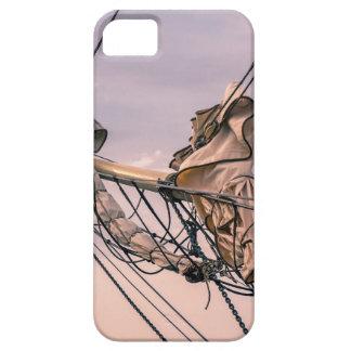 Detalle de un velero funda para iPhone SE/5/5s