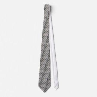 Detalle de una cerca de madera gris vieja corbatas personalizadas