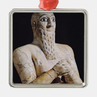 Detalle de una estatua de Itur-Shamagen Ornamentos De Reyes Magos