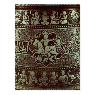 Detalle de una lámpara, de Egipto, 1282 Tarjeta Postal