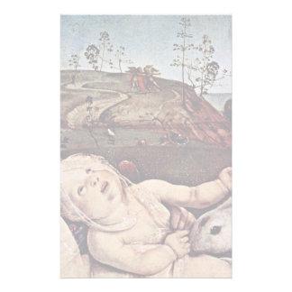 Detalle de Venus, de Marte y del Cupid de Piero di Papeleria De Diseño