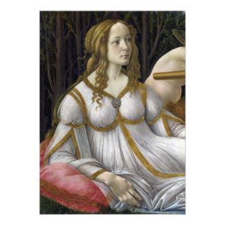 Detalle de Venus de Venus y de Marte por Botticel Comunicados Personales