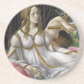 Detalle de Venus, de Venus y de Marte por Botticel Posavaso Para Bebida