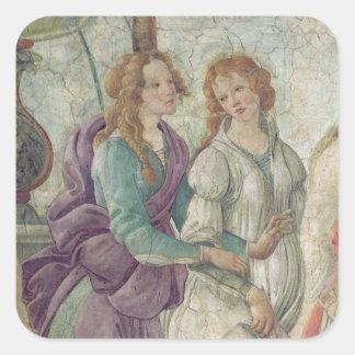 Detalle de Venus y de las tolerancias Pegatina Cuadrada
