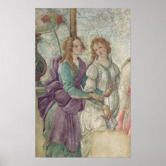 Detalle de Venus y de las tolerancias Póster