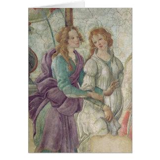 Detalle de Venus y de las tolerancias Tarjeta De Felicitación