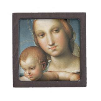 Detalle de <Virgin and Child> Atribuido a Rapha Caja De Regalo De Calidad