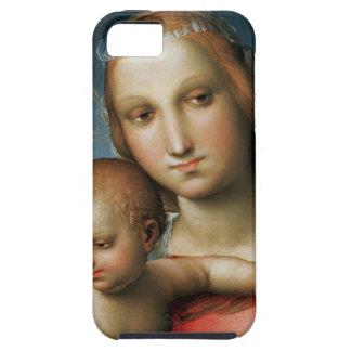Detalle de <Virgin and Child> Atribuido a Rapha iPhone 5 Cobertura