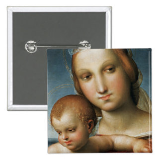 Detalle de <Virgin and Child> Atribuido a Rapha Pins