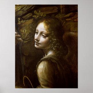 Detalle del ángel, de la Virgen del Póster