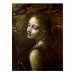 Detalle del ángel, de la Virgen del Tarjeta Postal