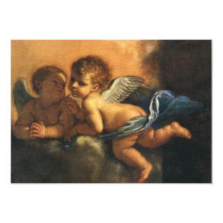 """Detalle del ángel, santos patrones de Módena por Invitación 5"""" X 7"""""""