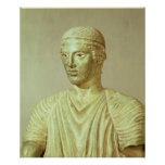 Detalle del auriga de Delphi, c.470 A.C. Impresiones