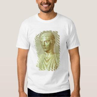 Detalle del auriga de Delphi, c.470 A.C. Playeras