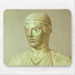 Detalle del auriga de Delphi, c.470 A.C. Alfombrilla De Ratón