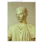 Detalle del auriga de Delphi, c.470 A.C. Felicitación