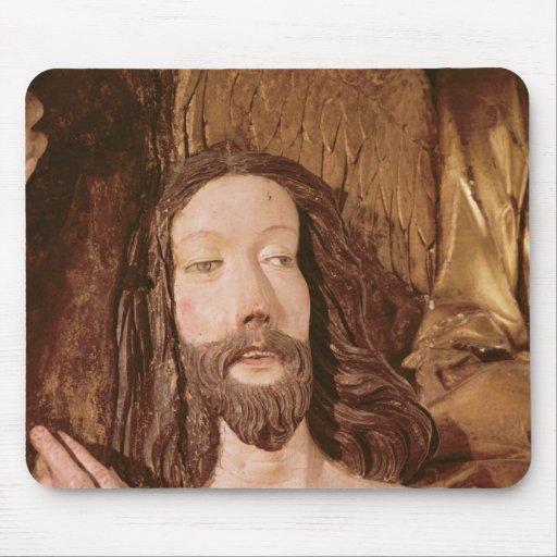 Detalle del bautismo de Cristo Alfombrilla De Ratón
