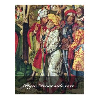 Detalle del Calvary de Meister Von 1477 (la mejor  Flyer A Todo Color