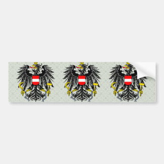 Detalle del escudo de armas de Austria Pegatina Para Auto