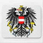 Detalle del escudo de armas de Austria Alfombrilla De Raton