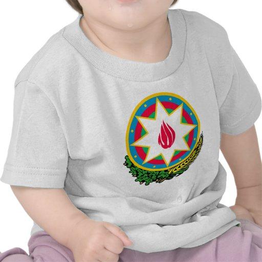 Detalle del escudo de armas de Azerbaijan Camiseta