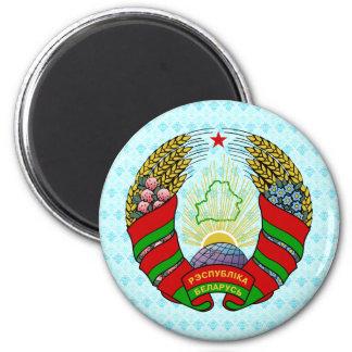 Detalle del escudo de armas de Bielorrusia Imán De Nevera