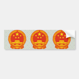Detalle del escudo de armas de China Pegatina Para Auto