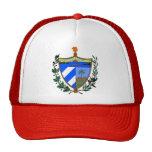 Detalle del escudo de armas de Cuba Gorra
