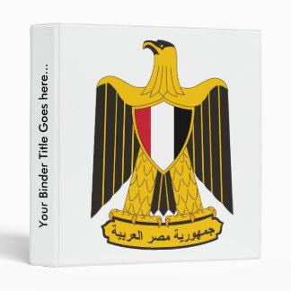 Detalle del escudo de armas de Egipto
