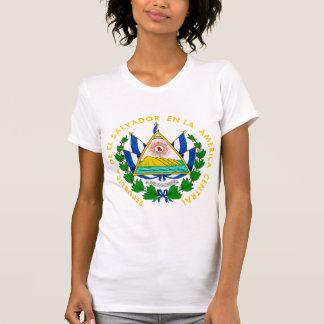 Detalle del escudo de armas de El Salvador Camisetas