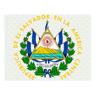 Detalle del escudo de armas de El Salvador Tarjetas Postales