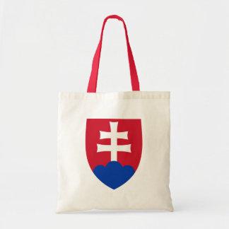 Detalle del escudo de armas de Eslovaquia Bolsa Lienzo