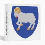 Detalle del escudo de armas de Faroe Island