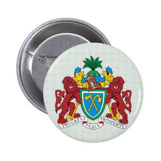 Detalle del escudo de armas de Gambia Pins