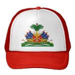 Detalle del escudo de armas de Haití Gorros