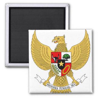 Detalle del escudo de armas de Indonesia Imán De Nevera